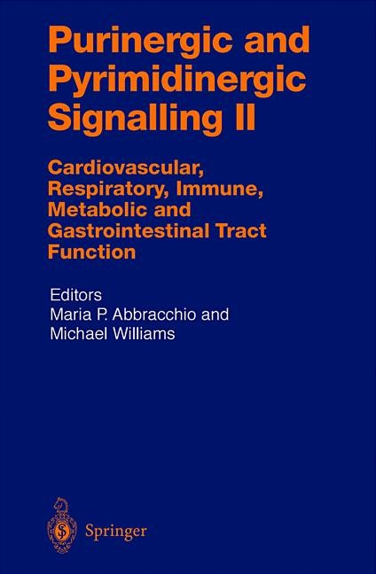 Purinergic and Pyrimidinergic Signalling II | Abracchio / Williams, 2012 | Buch (Cover)