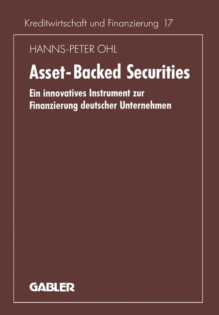 Asset-Backed Securities | Ohl | 1994, 1994 | Buch (Cover)