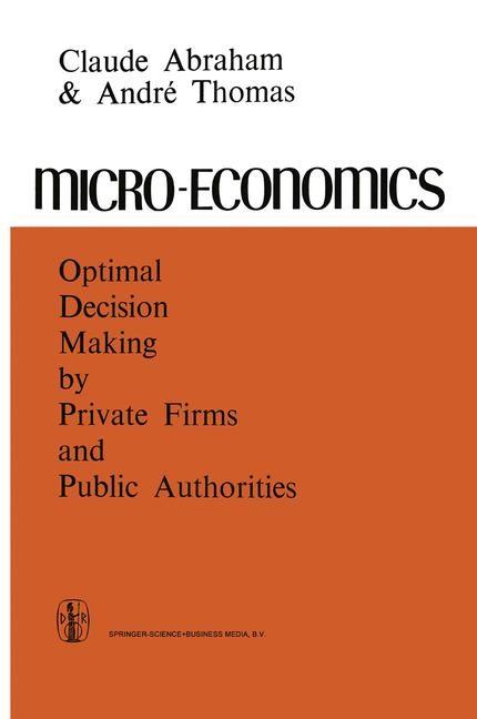 Micro-Economics | Abraham / Thomas, 2013 | Buch (Cover)