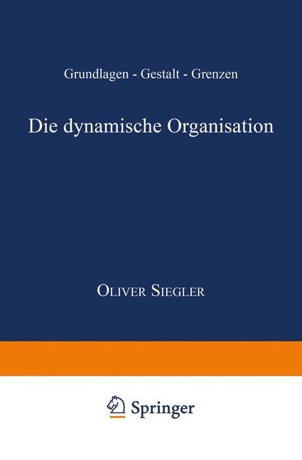 Die dynamische Organisation, 1999 | Buch (Cover)