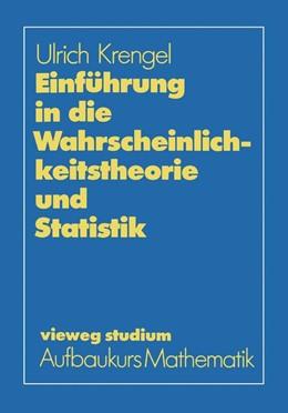 Abbildung von Krengel | Einführung in die Wahrscheinlichkeitstheorie und Statistik | 1988