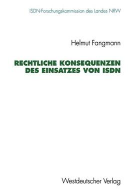 Abbildung von Rechtliche Konsequenzen des Einsatzes von ISDN | 1993