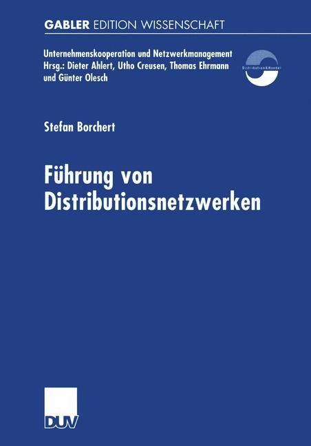 Führung von Distributionsnetzwerken | Borchert, 2001 | Buch (Cover)