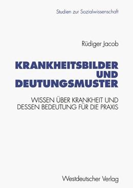 Abbildung von Krankheitsbilder und Deutungsmuster | 1995 | Wissen über Krankheit und dess... | 154