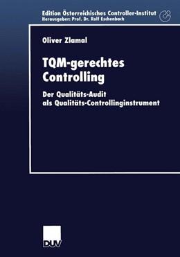 Abbildung von TQM-gerechtes Controlling | 1. Auflage | 1999 | beck-shop.de
