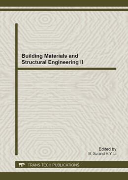 Abbildung von Xu / Li | Building Materials and Structural Engineering II | 2013 | Selected, peer reviewed papers... | Volume 743