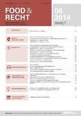 Food & Recht (Cover)