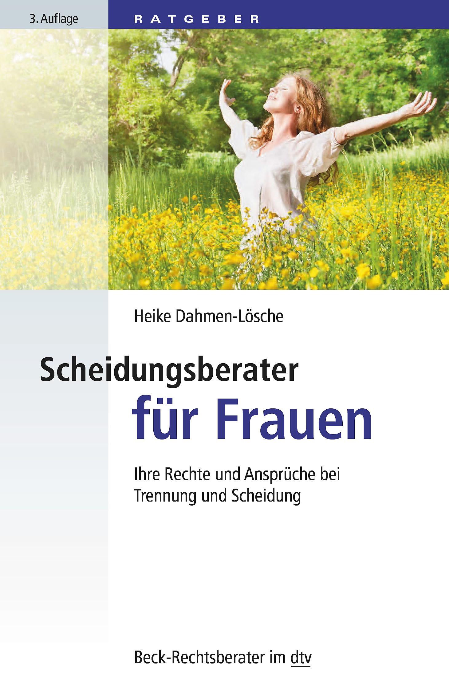 Scheidungsberater für Frauen | Dahmen-Lösche | 3. Auflage, 2016 | Buch (Cover)