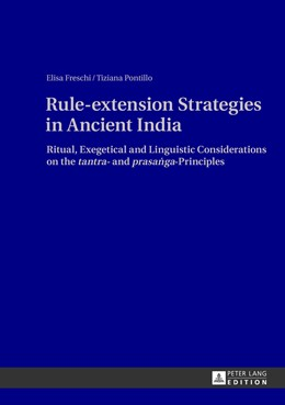 Abbildung von Pontillo / Freschi | Rule-extension Strategies in Ancient India | 2013 | Ritual, Exegetical and Linguis...