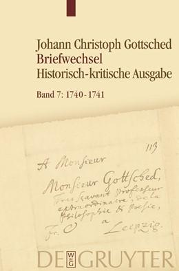 Abbildung von Döring / Rudersdorf | August 1740 - Oktober 1741 | 2013 | Historisch-kritische Ausgabe. ...
