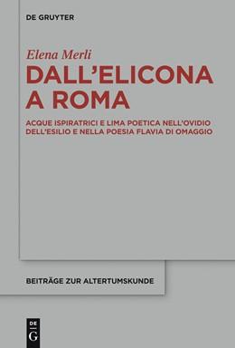 Abbildung von Merli | Dall'Elicona a Roma | 2013 | Acque ispiratrici e lima poeti... | 318