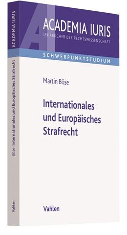 Abbildung von Böse | Internationales und Europäisches Strafrecht | 2020