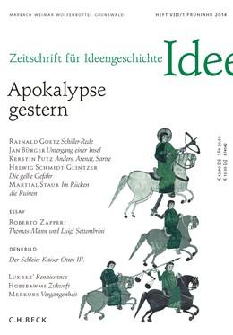 Abbildung von Zeitschrift für Ideengeschichte Heft VIII/1 Frühjahr 2014 | 1. Auflage | 2014 | beck-shop.de