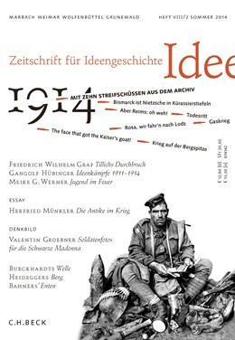 Abbildung von Zeitschrift für Ideengeschichte Heft VIII/2 Sommer 2014 | 1. Auflage | 2014 | beck-shop.de