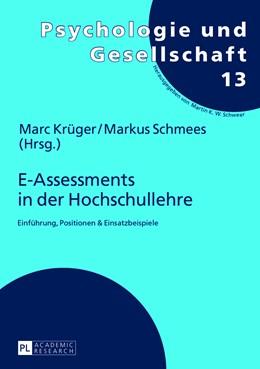 Abbildung von Schmees / Krüger   E-Assessments in der Hochschullehre   2013   Einführung, Positionen & Einsa...   13