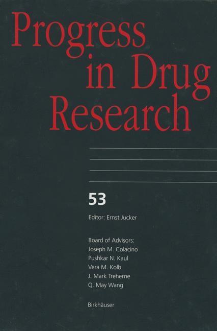 Abbildung von Progress in Drug Research   2012