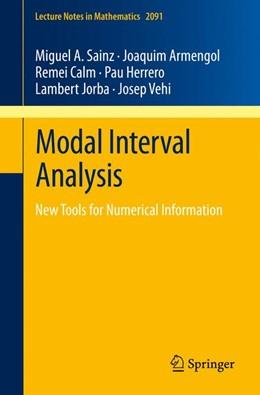 Abbildung von Sainz / Armengol / Calm | Modal Interval Analysis | 2013 | New Tools for Numerical Inform... | 2091