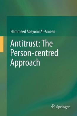 Abbildung von Al-Ameen | Antitrust: The Person-centred Approach | 2013