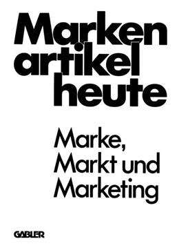 Abbildung von Andreae | Markenartikel heute | 1. Auflage | 1978 | beck-shop.de