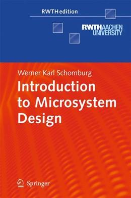 Abbildung von Schomburg | Introduction to Microsystem Design | 2013
