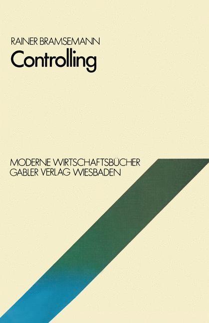 Controlling | Bramsemann | 1978, 1978 | Buch (Cover)
