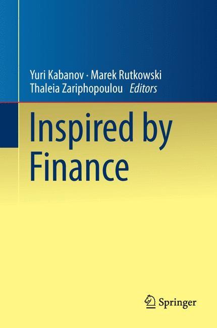Inspired by Finance | Kabanov / Rutkowski / Zariphopoulou, 2013 | Buch (Cover)