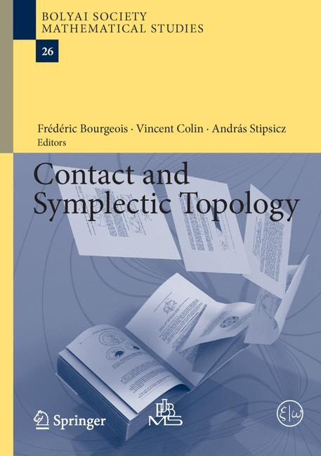 Contact and Symplectic Topology | Bourgeois / Colin / Stipsicz, 2014 | Buch (Cover)