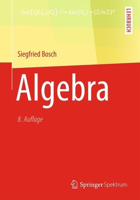 Algebra | Bosch, 2013 | Buch (Cover)