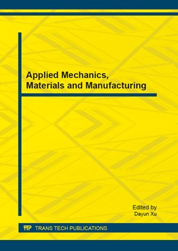 Abbildung von Xu | Applied Mechanics, Materials and Manufacturing | 2013 | Selected, peer reviewed papers... | Volume 378