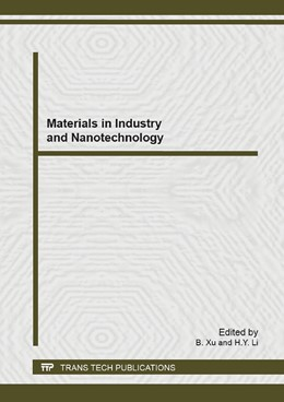 Abbildung von Xu / Li | Materials in Industry and Nanotechnology | 2013 | Selected, peer reviewed papers... | Volume 771