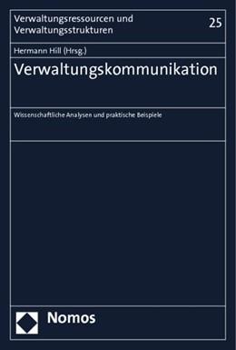 Abbildung von Hill (Hrsg.) | Verwaltungskommunikation | 2013 | Wissenschaftliche Analysen und... | 25