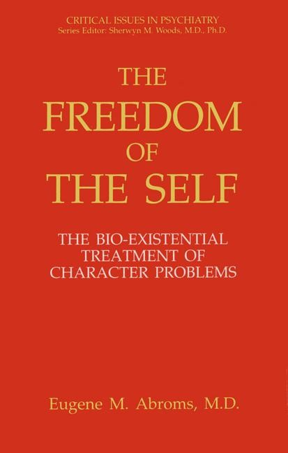 The Freedom of the Self | Abroms, 2012 | Buch (Cover)