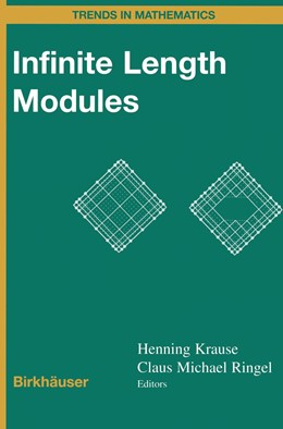 Abbildung von Krause / Ringel | Infinite Length Modules | 2012