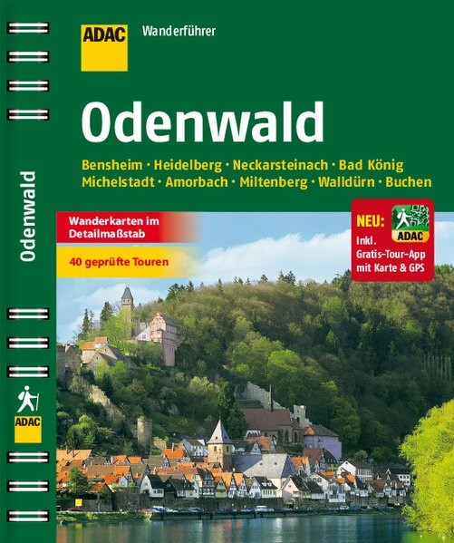 ADAC Wanderführer Odenwald, 2014 | Buch (Cover)