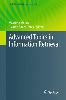 Abbildung von Melucci / Baeza-Yates | Advanced Topics in Information Retrieval | 2013 | 33