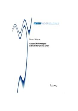 Abbildung von Scharrer | Acoustic Field Analysis in Small Microphone Arrays | 2013 | 14