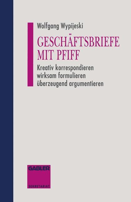 Abbildung von Geschäftsbriefe mit Pfiff   2012