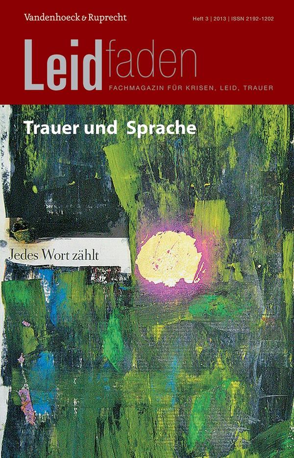 Trauer und Sprache – Jedes Wort zählt | Brathuhn / Müller / Rechenberg-Winter, 2013 | Buch (Cover)