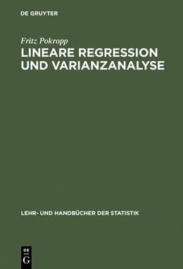 Abbildung von Pokropp | Lineare Regression und Varianzanalyse | Reprint 2015 | 1994