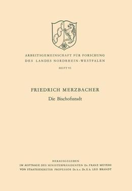 Abbildung von Merzbacher | Die Bischofsstadt | 1961 | 93