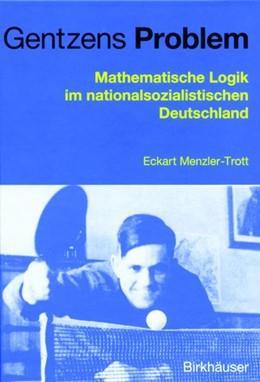 Abbildung von Menzler-Trott   Gentzens Problem   2012   Mathematische Logik im nationa...