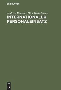 Internationaler Personaleinsatz | Kammel / Teichelmann | Reprint 2018, 1994 | Buch (Cover)