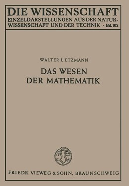 Abbildung von Lietzmann   Das Wesen der Mathematik   1949   102
