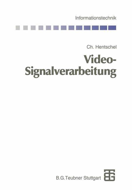 Video-Signalverarbeitung | Bossert / Hentschel / Fliege, 2013 | Buch (Cover)