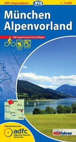 Abbildung von ADFC-Regionalkarte München / Alpenvorland 1 : 75 000 | 6. Auflage | 2013 | Mit Tagestourenvorschlägen