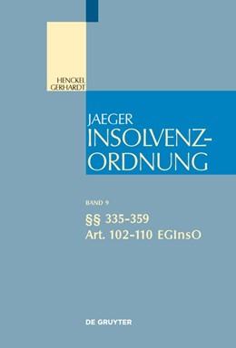 Abbildung von Schmidt / Mankowski | §§ 335-359; Art. 102-110 EGInsO | 1. Aufl. | 2020