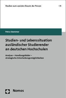 Abbildung von Stemmer | Studien- und Lebenssituation ausländischer Studierender an deutschen Hochschulen | 2013 | Analyse - Handlungsfelder - st... | 4