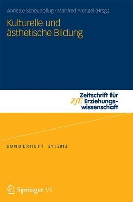 Abbildung von Scheunpflug / Prenzel   Kulturelle und ästhetische Bildung   2013   21