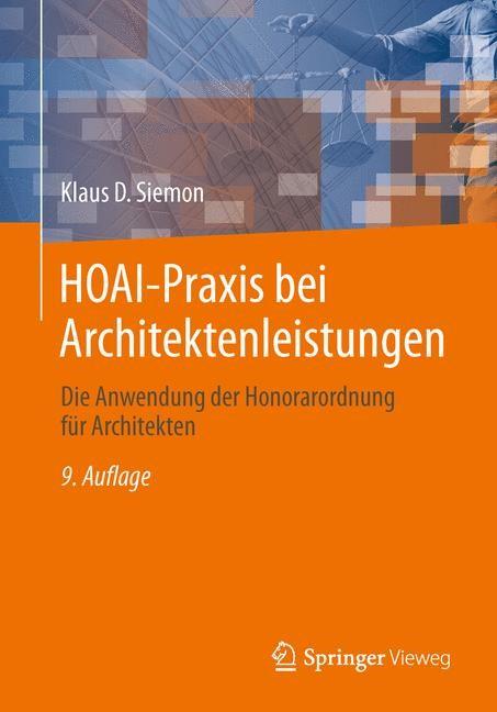 Hoai Praxis Bei Architektenleistungen Siemon 9 Vollstandig