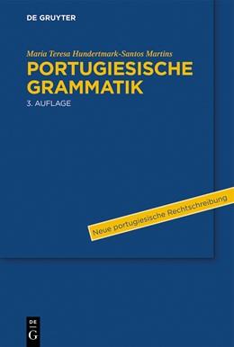 Abbildung von Hundertmark-Santos Martins   Portugiesische Grammatik   3. Auflage   2014   beck-shop.de